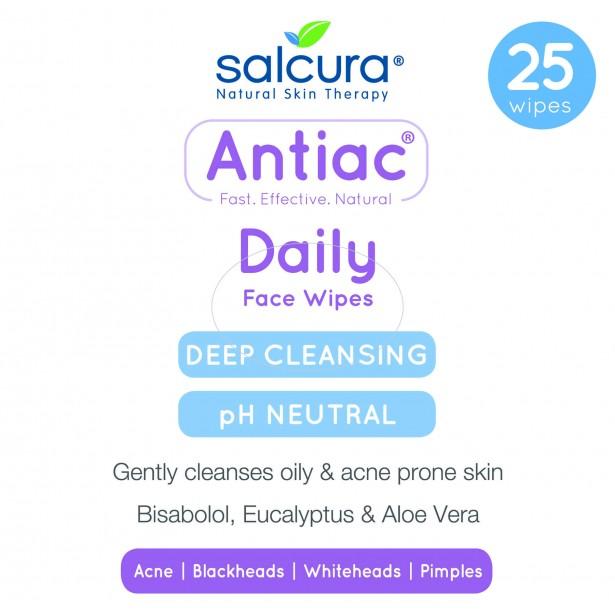 Antiac Daily Кърпички за Лице против Акне 25 бр.