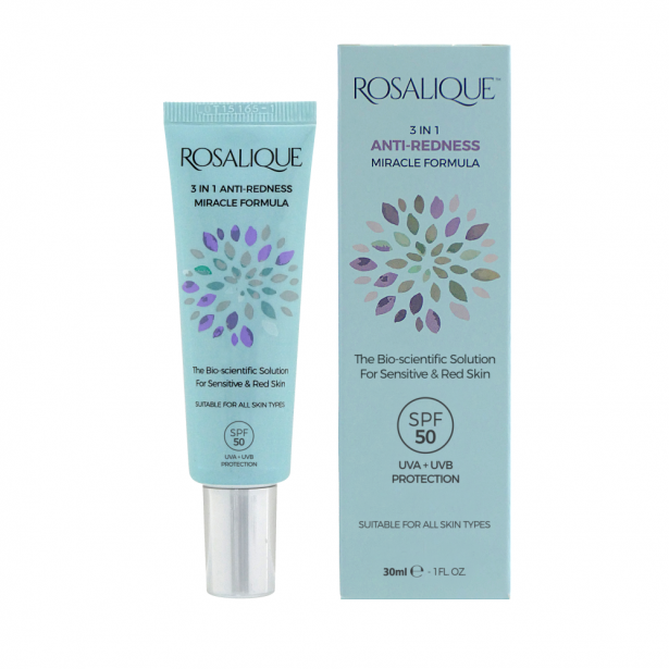 Rosalique 3 in 1 Anti-redness Miracle Formula 30 мл